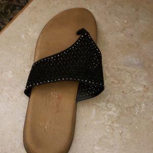 size 9 comfort cushy sandals pretty design